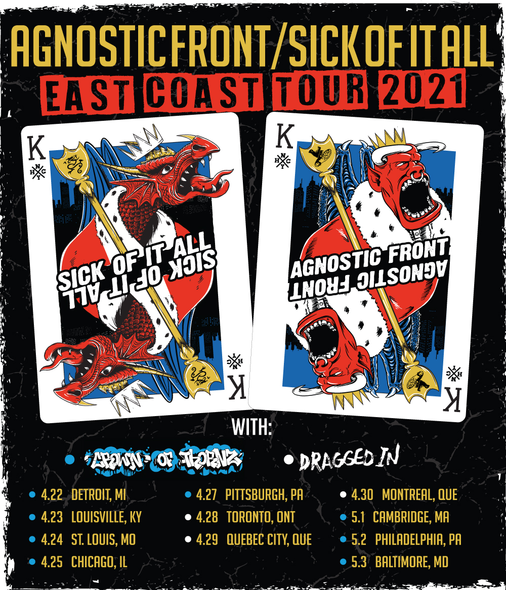 East Coast 2021 with Agnostic Front