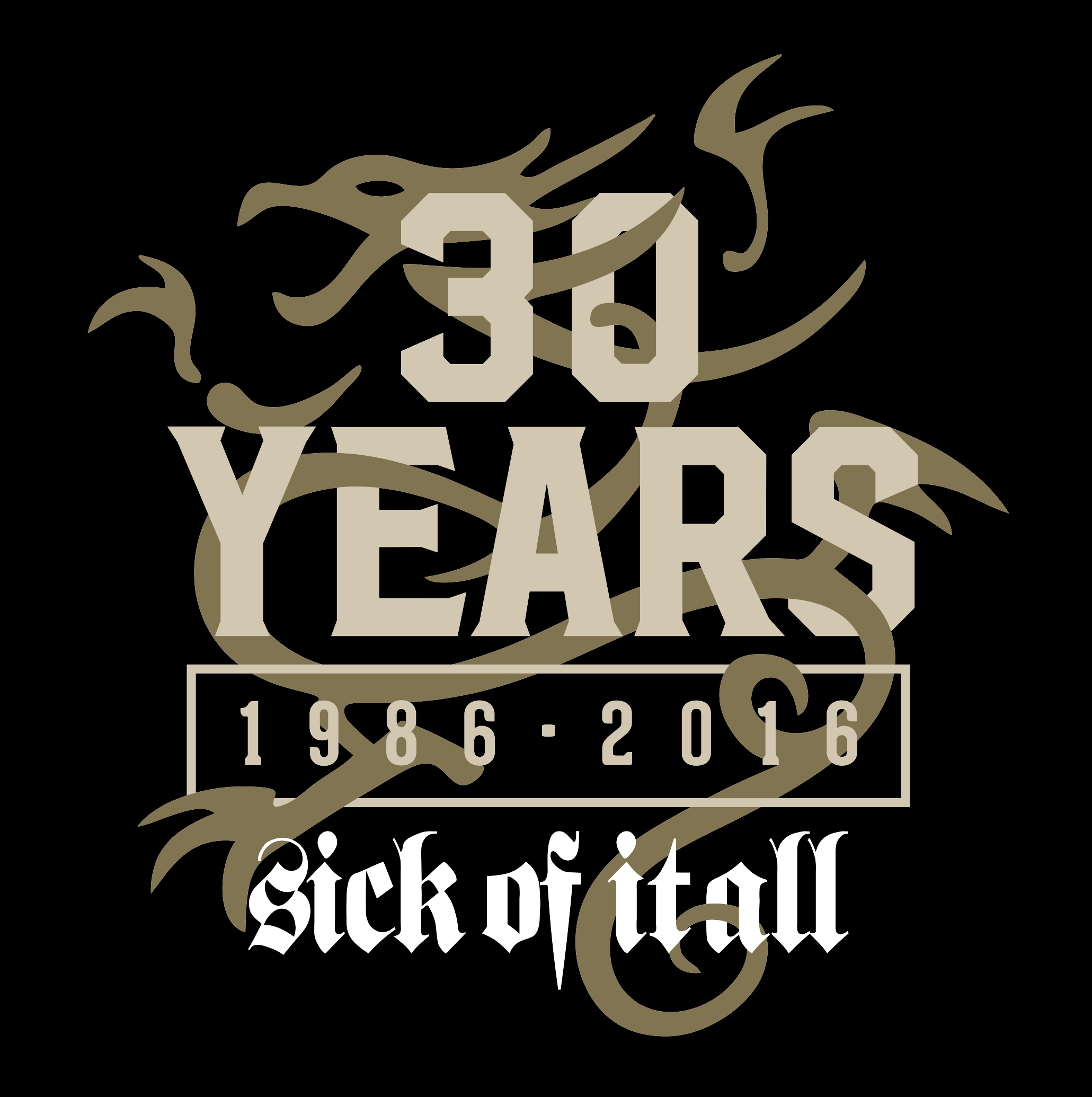 30 years of Sick Of It All. You decide what we play!