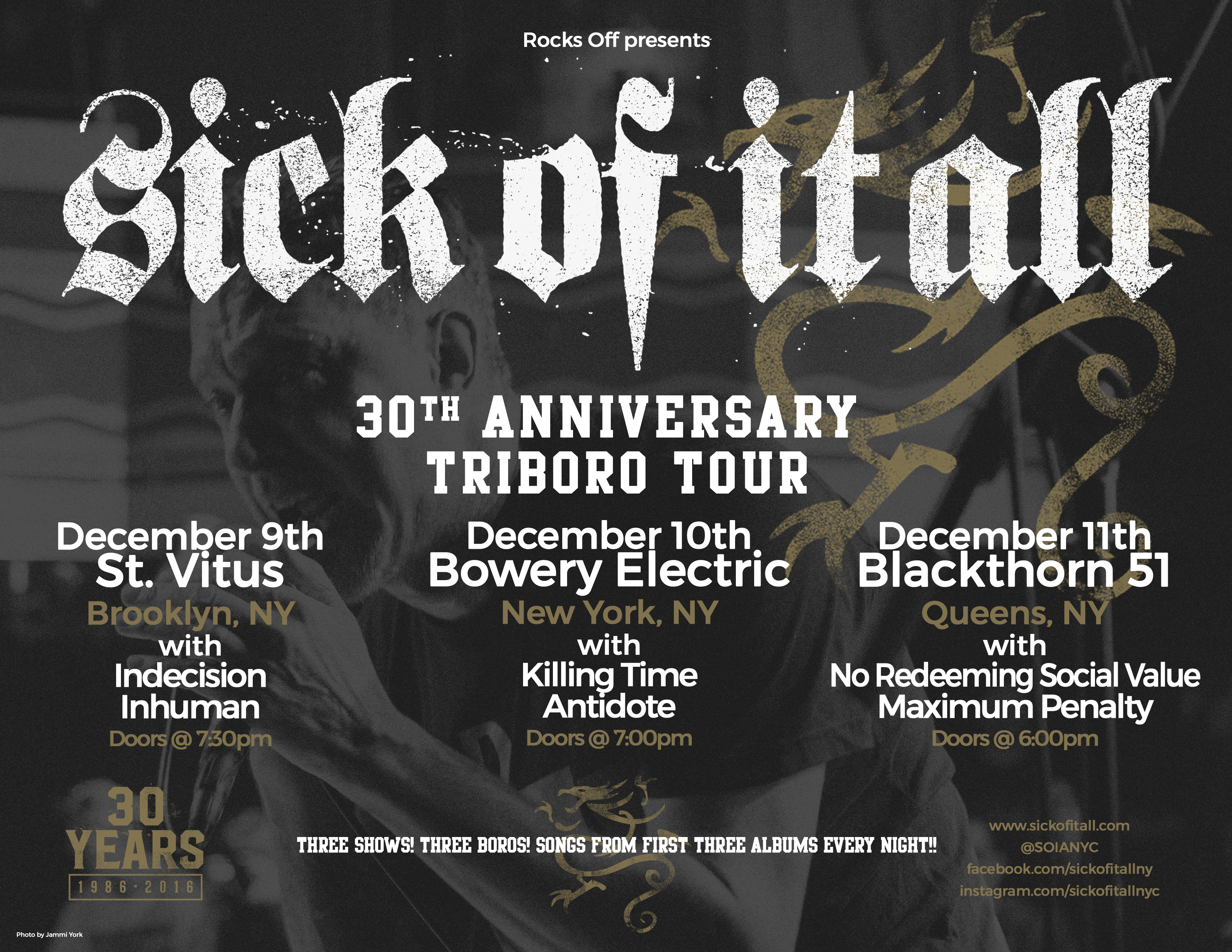 30th Anniversary Triboro Tour