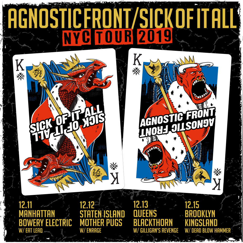 NYC Tour with Agnostic Front