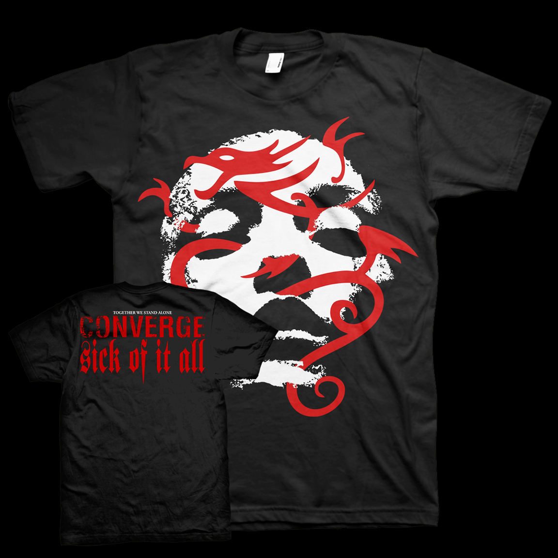 Converge x Sick of it All Mashup T-Shirt to Benefit Artists and Musicians in Need