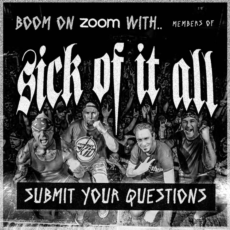 Live Q&A with Sick Of It All